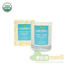Ароматическая соевая свечка Лето Тоскании Mambino Organics
