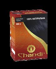 Краска для волос аюрведическая лечебная Черный Chandi