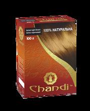Краска для волос аюрведическая лечебная Светло-коричневый Chandi