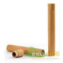 Бамбуковый футляр для зубной щетки