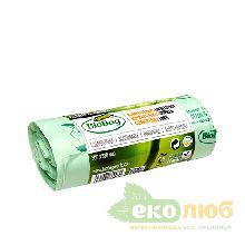 Биоразлагаемые пакеты для мусора 30 литров BioBag