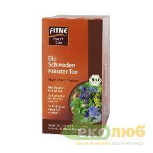 Чай органический Горькие шведские травы Для улучшения пищеварения Fitne