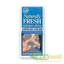 Дезодорант-камень в тарелочке Naturally Fresh Deodorant Crystal