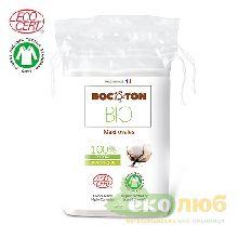 Диски ватные Овальные Bocoton Bio