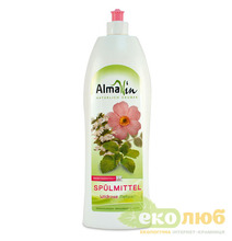 Жидкость для мытья посуды Роза AlmaWin