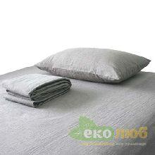 Комплект льняного постельного белья детский ЛинТекс