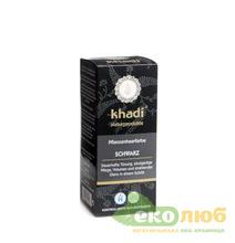 Краска для волос Черный Khadi