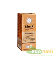 Краска для волос Светло-коричневый Khadi