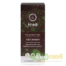 Краска для волос Орехово-коричневый Nut Brown Khadi