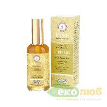 Масло для лица и тела для сухой и зрелой кожи Белая лилия Khadi