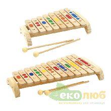 Ксилофон деревянный Мир Деревянных Игрушек