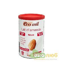 Молоко сухое из миндаля без сахара EcoMil