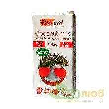 Молоко из кокоса без сахара EcoMil