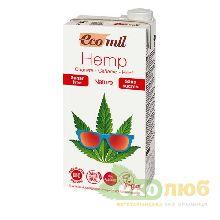 Молоко из конопли без сахара EcoMil