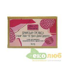 Мыло Дамасская роза, иланг-иланг и розовое дерево Natura Victoria