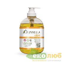 Мыло жидкое Абрикос для лица и тела Olivella