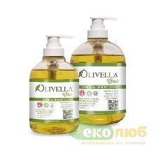 Мыло жидкое для лица и тела на основе оливкового масла Olivella