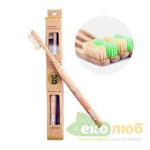 Зубная щетка бамбуковая Eco Panda