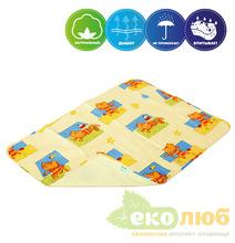Непромокаемая пеленка Premium бязь Эко Пупс