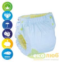 Подгузник трикотажный Easy Size Premium (без вкладыша) Эко Пупс