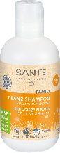 Шампунь для блеска и объема волос Апельсин и Кокос Sante (распродажа)
