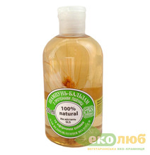 Шампунь-бальзам для восстановления волос Пшеница ЯКА