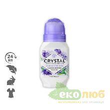 Шариковый дезодорант Лаванда и белый чай Crystal