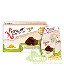 Шоколадные конфеты желейные Мрия Стевиясан