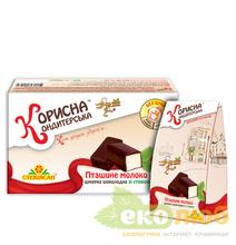 Шоколадные конфеты Птичье молоко Стевиясан