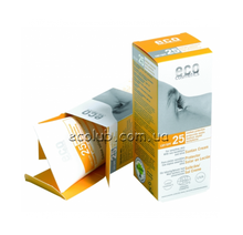 Водостойкий солнцезащитный крем SPF 25 Eco cosmetics