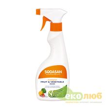 Средство для мытья овощей и фруктов Sodasan