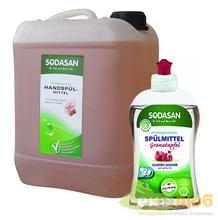 Средство для мытья посуды Гранат Sodasan