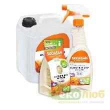 Средство очищающее для ванной комнаты Sodasan