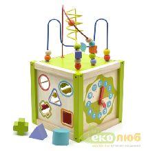Универсальный куб Мир Деревянных Игрушек