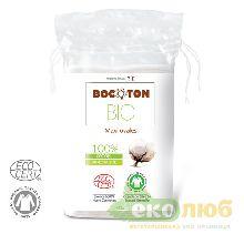 Ватные диски овальные Bocoton Bio