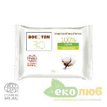 Влажные салфетки для снятия макияжа Bocoton Bio