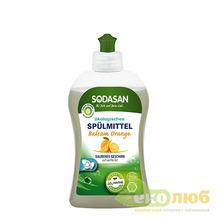 Бальзам для мытья посуды Апельсин Sodasan