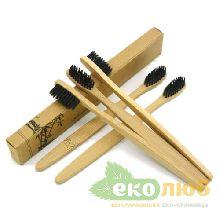 Зубная щетка бамбуковая Ecobrush